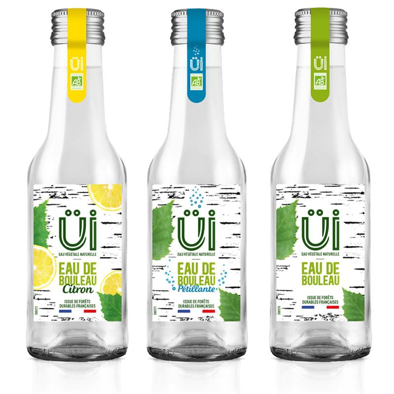 Lot de 3 bouteilles UI